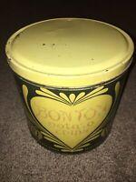 Vintage Bon Ton Potato Chip Empty Tin Can
