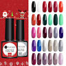 UR SUGAR 7.5ml Winter Series UV Gel Polish Soak Off Gel Varnish Christmas Design