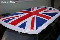 Dachaufkleber UNION JACK Dach Aufkleber vormontiert ! Roof Flagge Großbritannien