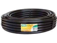 Polytube Holman Irrigation Black Lawn Garden Watering Tube 25mm x 100M