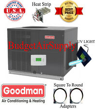 2.5(2 1/2)Ton 14 seer Goodman HEAT PUMP Multiposition Package GPH1430M4+UV+Adapt