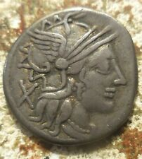 Roman Republic Cn. Carbo Silver Denarius. Rome, 121 BC. 20 mm, 3.94 gm