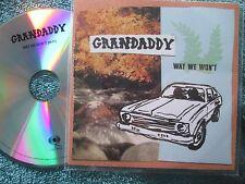 Grandaddy – Way We Won't Columbia Sony Music Entertainment UK Promo CD Single