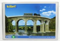 BNIB N GAUGE KIBRI 37665 RAIL OVER CURVED VIADUCT BRIDGE KIT