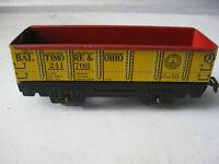 Vintage Marx Baltimore & Ohio Tin Metal Railcar