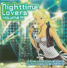 Nighttime Lovers Volume 19  cd 80's disco/funk ( Whispers, Mtume, S.O.S. Band )