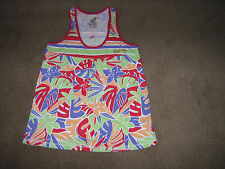 BILLABONG LADIES/GIRLS  TOP-APPEAR NEW-CHEST SIZE:34 INS.-SLEEVLESS-PRETTY COLS.