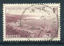 TIMBRE  MONACO N° 256  vue generale de la principaute