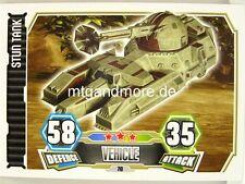 Stun Tank  #070 - Force Attax Serie 3
