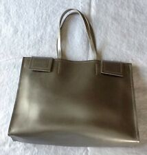 Nannini Leather Double Handle Las Handbag Purse Made In Italy 1137