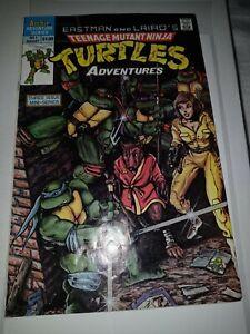 Teenage Mutant Ninja Turtles Adventures 1 Archie Comics Aug. 1988 F/VF OR BETTER