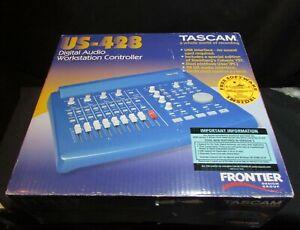 TASCAM US-428 DIGITAL AUDIO WORKSTATION CONTROLLER. NEW.