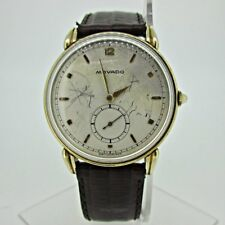 Vintage Movado MXI 17 Jewels 14k Gold Filled Watch