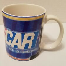 Nascar auto racing coffee cup mug