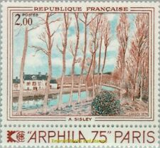 EBS France 1974 Art: Canal du Loing by Alfred Sisley - ARPHILA 75 1812 MNH**