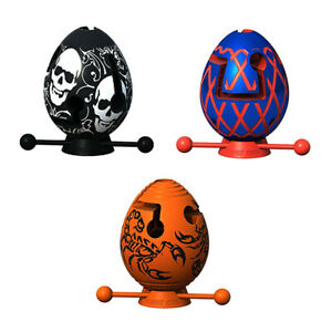 Smart Egg Labyrinth Puzzle 1 Layer 3-Piece Set for Kids as a Gift for Easter HOT