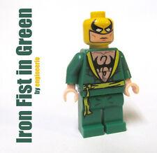 LEGO Custom - Iron Fist Green - Marvel Super heroes mini figure ironman