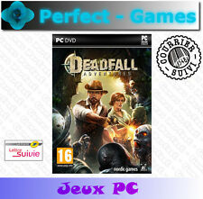 DEADFALL ADVENTURES PC DVD Games jeux PC neuf new sous blister