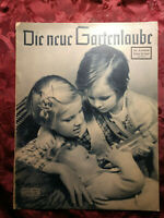 RARE Die Neue Gartenlaube German Magazine 6 March 1940 WWII