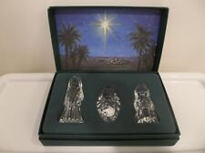 Waterford Crystal Marquis Nativity Collection Mary Joseph Jesus Holy Family +Box