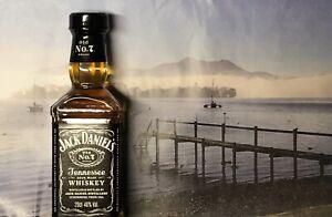 20cl 0,2L 200ml Jack Daniels Sammler selten 40Vol% Daniel's Eckig kein Flachmann