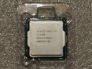 Intel Core i7 6700 3.40GHz Quad Core LGA 1151 Processor CPU SR2L2
