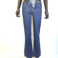 "Joe's Jeans Womens Size 25 x 30 ""Honey"" Dark Blue Denim Straight Leg Pants USA"