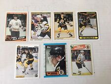 Ray Bourque Quantity 8 Hockey Cards NM Boston Bruins Topps O-Pee-Chee *