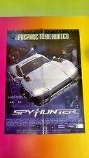NEW Spy Hunter - Nintendo Power Original RARE Poster SNES Wii N64 Gamecube PS2