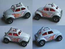 "Hot Wheels – VW Beetle ""Baja Bug"" BLANC ""Blazin Bug"""