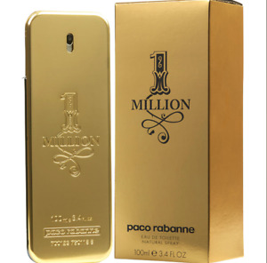 One Million 1 Million Paco Rabanne EDT cologne 3.4 oz 100ml Spray NEW SEALED BOX