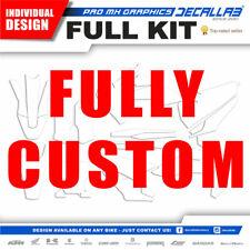 FULLY CUSTOM INDIVIDUAL DESIGN DECALLAB MOTOCROSS GRAPHICS