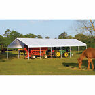 ShelterLogic Super Max Commercial Outdoor Canopy-40ft.L x 18ft.W x 11ft.H,#26764