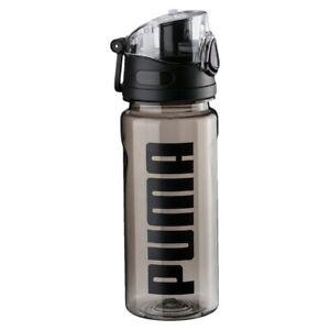 PUMA TR Bottle Sportstyle Wasserflache Wandern Trekking Black Transparent 053518