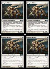 4x KNIGHT OF GLORY M13 Magic 2013 MTG White Creature—Human Knight Unc