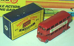 Matchbox 5c Routemaster Bus Very Near Mint in Good Box