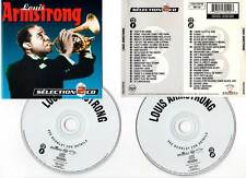 "LOUIS ARMSTRONG ""Selection - 40 Titres"" (2 CD) 1994"