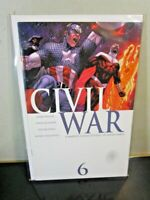 Civil War 6 A Marvel 2006 Captain America Spider-Man Avengers BAGGED BOARDED