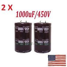 2PCS 1000UF450V 35 * 50 electrolytic capacitors 1000UF 450V 35X50