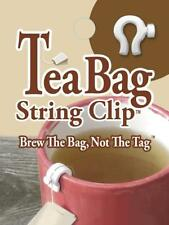 NEW QTY 10 TEA BAG STRING CLIP BREW THE BAG NOT THE TAG M93