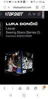 LUKA DONČIĆ NBA Top Shot Series 2 Seeing Stars NFT Layup #'d 5812/ limited ed.