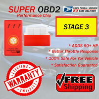 Yellow OBD2 Performance Chip--Fuel Saver For SUBARU OUTBACK 1998-2017 2018-2019