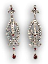 New Marcasite and Garnet Earrings