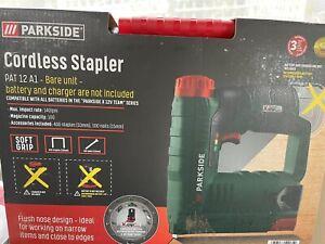 Parkside Cordless Stapler PAT 12 A1 - BARE UNIT ONLY  - X 12V TEAM