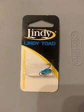 Lindy Toad Ice Fishing Jigs 2 Pack 12HK Blue Glow