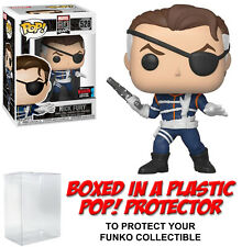 Funko POP! Marvel ~ NICK FURY (#528) EXCLUSIVE w/PROTECTOR ~ Agent of Shield