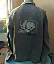 BNWT FAT FACE Classic Iconic AIRLIE Mens Sweatshirt Graphite Grey Size XL Surfer