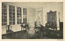 Postcard Virginia George Washington Mount Vernon Library Globe Fairfax Co. NrMNT