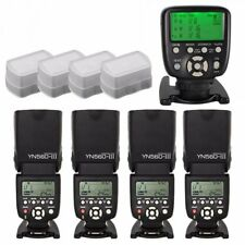 Yongnuo YN-560TX II LCD Controller + 4X YN-560 III Flash Speedlite Set for Canon