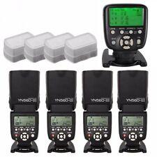 Yongnuo YN-560TX II LCD Controller + 4X YN-560 III Flash Speedlite Set for Canon